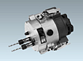"Product Image - Drill Heads 2-Spindle Collet Chuck Style (Quick Change ""Catch-Clip"" Type)"
